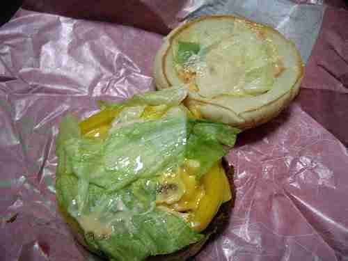2515403626 300112cc3a1 Vintage Post: Lotteria's Avocado, Shrimp and Cheese Burger