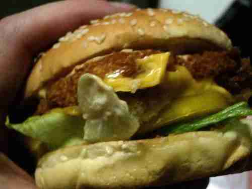2515405590 2cfce923331 Vintage Post: Lotteria's Avocado, Shrimp and Cheese Burger