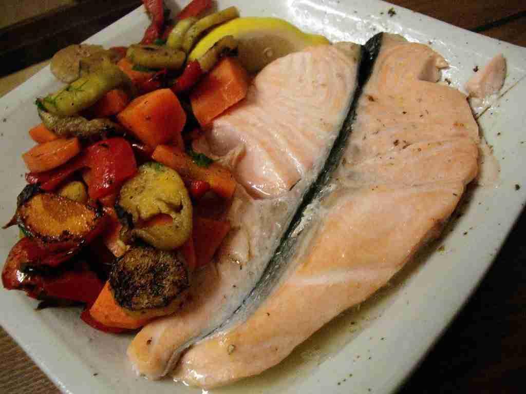Mmm... Salmon...