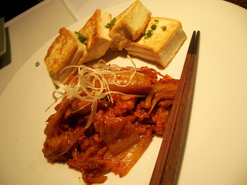 Kimchi jjim--no different than any Korean pub other than the price