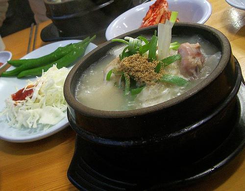 Samgyetang - Ginseng Whole Chicken Soup