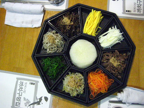 Gujeolpan--the nine sectioned dish. Is this more exciting than barbecue?