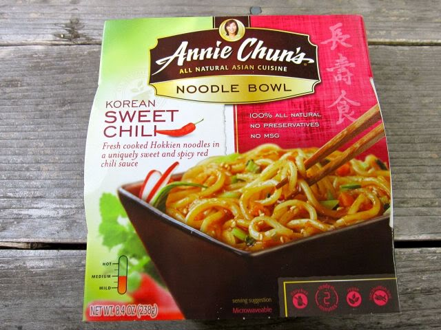 Annie Chun's Korean Sweet Chili noodle bowl