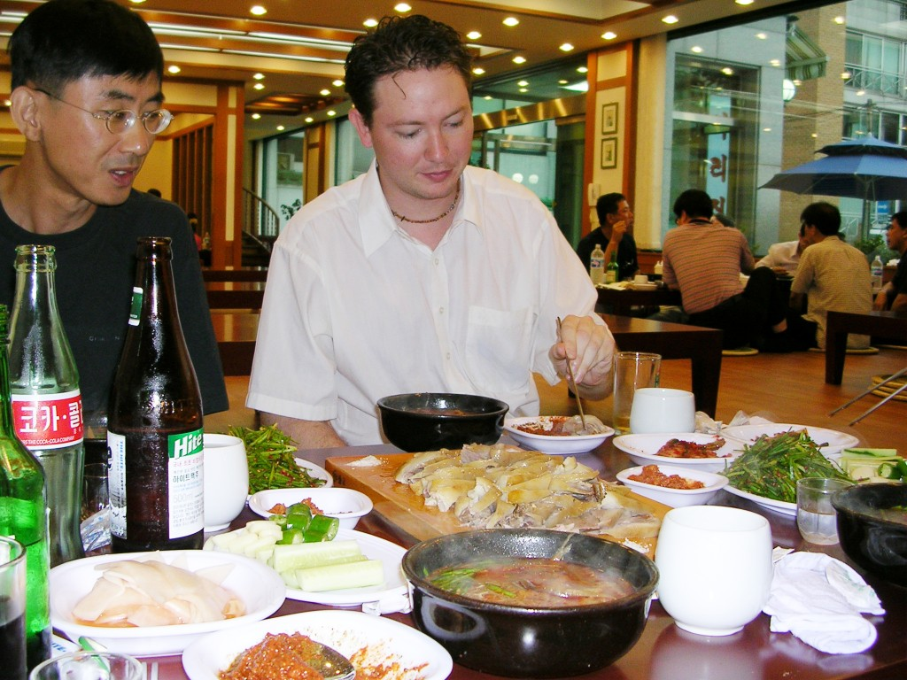 Dog meat restaurant