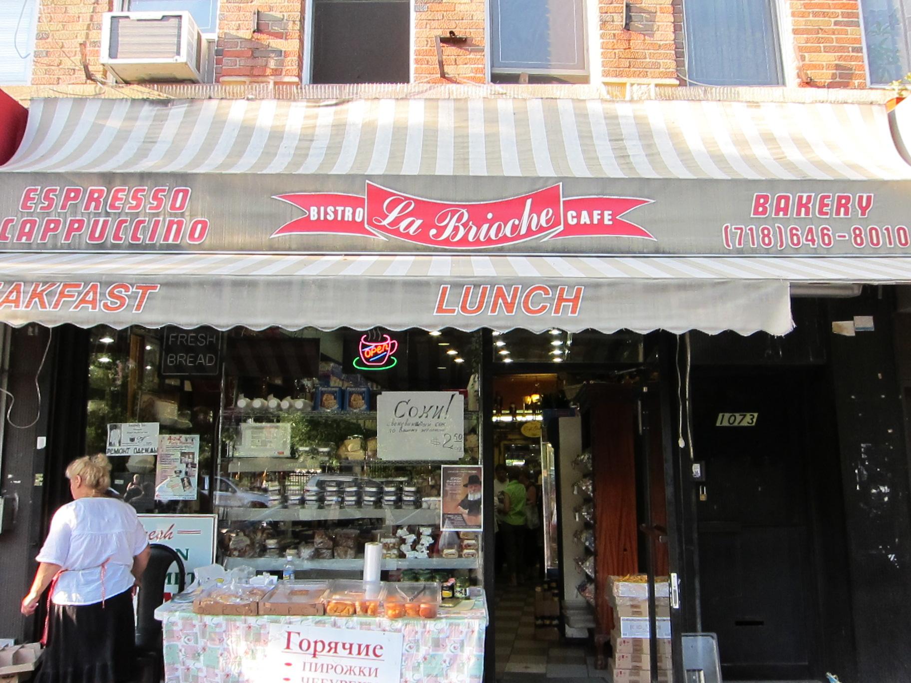La Brioche bakery, Brighton Beach