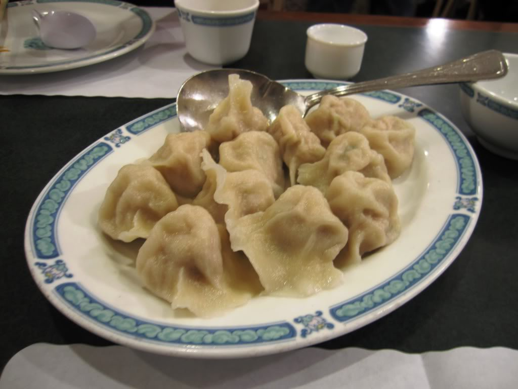 San Tung's steamed potstickers