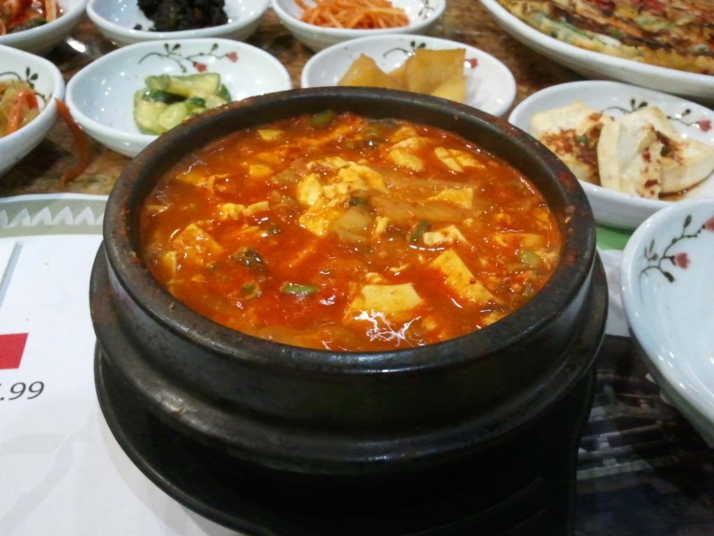 Kimchi Soondoobu from Myungdong Grill