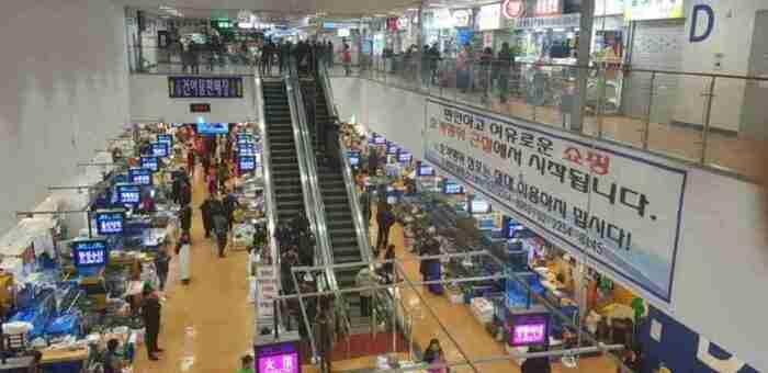 Seoul Food Guide: New Noryangjin