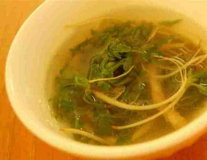 Naengi Soup