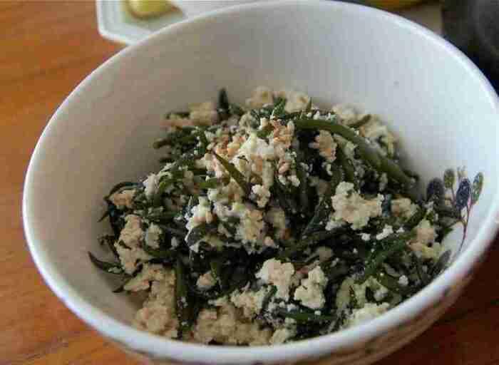 Tot & Tofu Side Dish (톳 두부 반찬)