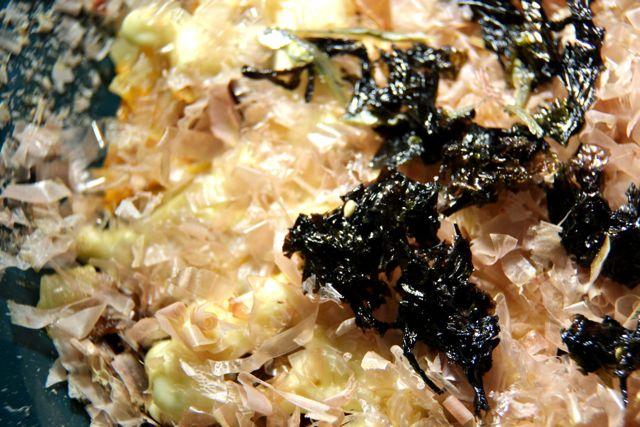 kimchiokonomiyakispinning11 Kimchi Okonomiyaki