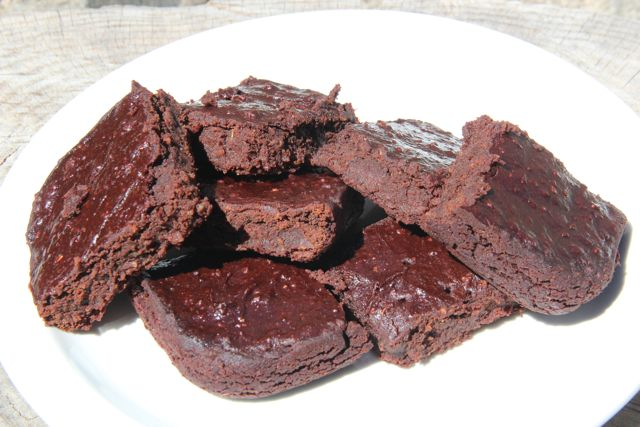 RedBeanBrownies1322 Adzuki Bean Brownies
