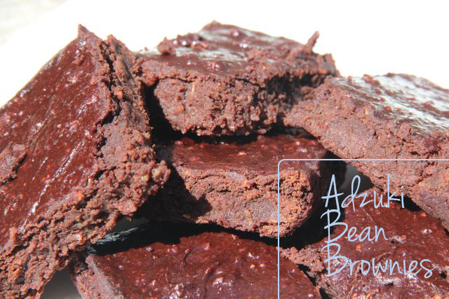 RedBeanBrownies14 Adzuki Bean Brownies