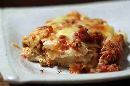 8440446834 8392d11e4321 Korean Kitchen Hacking: Lasagna almost totally from scratch