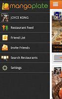 menu2 MangoPlate   New Restaurant App in English