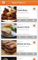 search+result2 MangoPlate   New Restaurant App in English