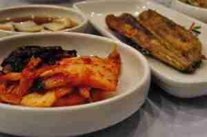 Kimchi and Banchan