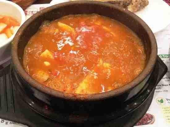 Kimchi Soon Tofu Stew