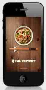 Asian Cuisines iphone ios cooking app