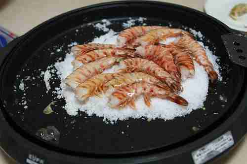 salt grilled shrimp