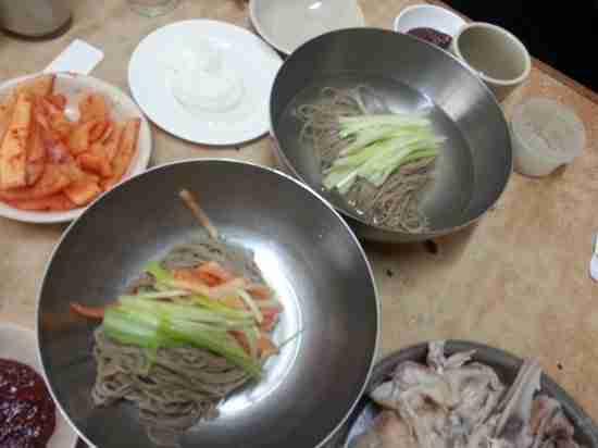 Cheogajip north korean restaurant featured in the for Table 52 restaurant week menu 2013