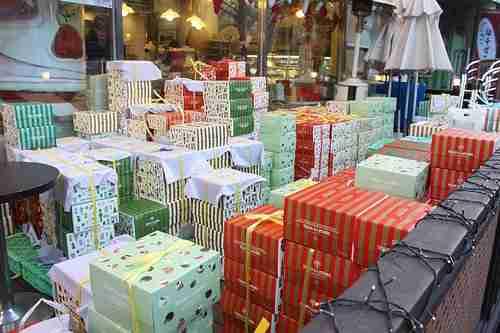 Korean Christmas Cakes 2010