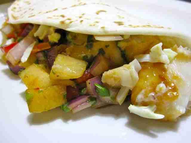 Korean Fish Tacos