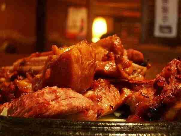Smoked Turkey at Korea Barbecue