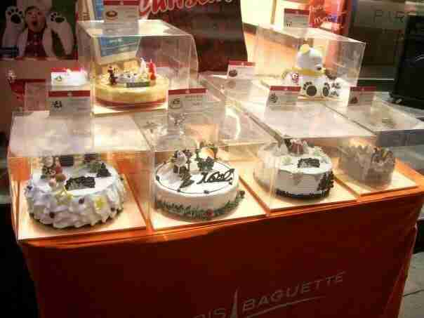 Christmas Cakes Abound