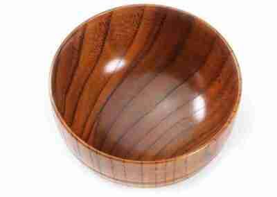 Handmade Jujube Wood Rice Bowl