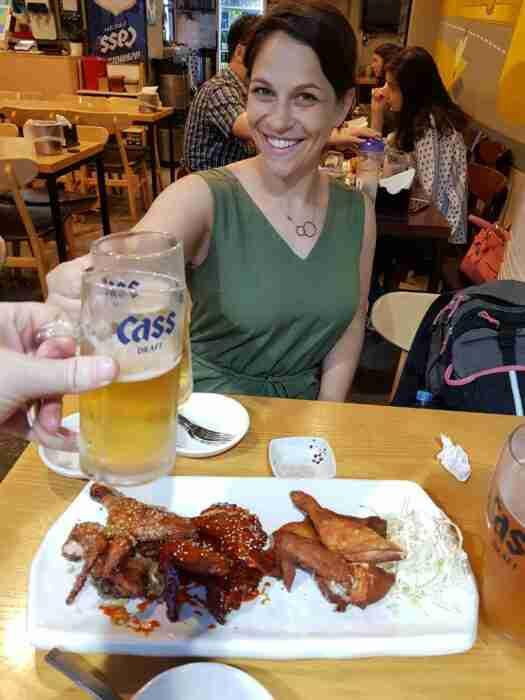 Korean Chicken & Beer