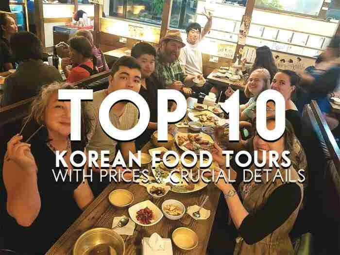 Top 10 Korean Food Tours