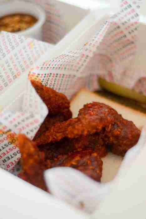 Brave Rooster's Chicken Wing